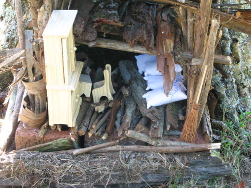 Lavendar, Fairy Houses, and Fire 026