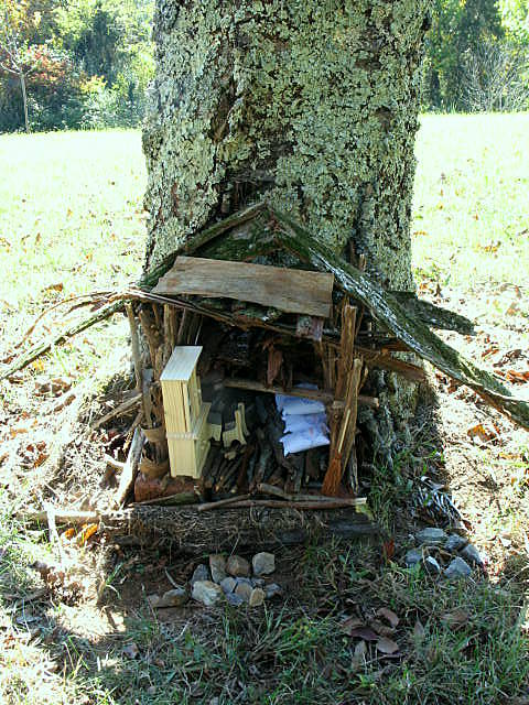 Lavendar, Fairy Houses, and Fire 028