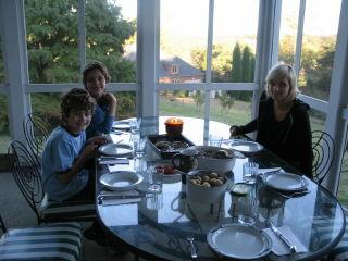 Stuga, autumn,halloween,cooking outside 032