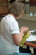 Knitting in Public 012