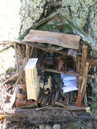 Lavendar, Fairy Houses, and Fire 027