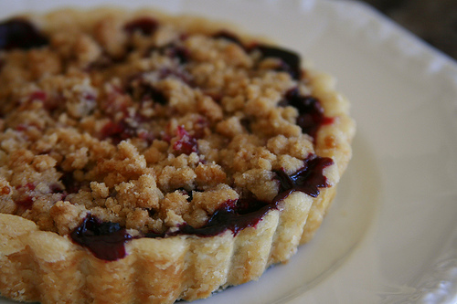 Blueberry pie1