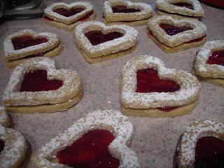 Almond hearts