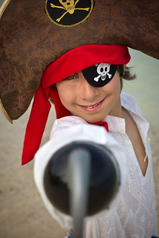 Sweet boy pirate