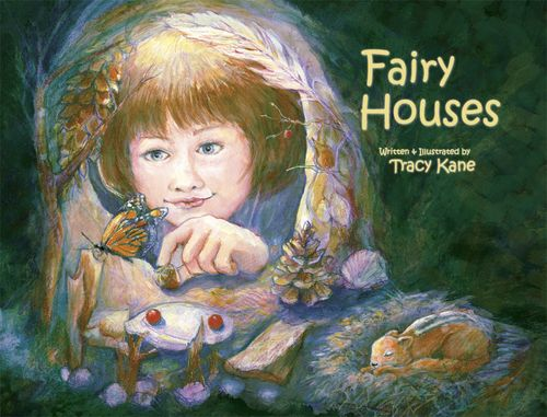 Fairy house building for kids