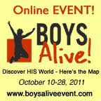 Boys Alive Event Widget